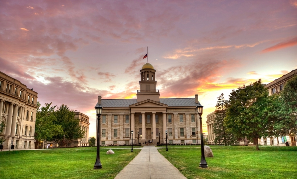 The University of Iowa Old Capitol Building